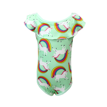 Toddler Unicorn children swim suit for girl one piece baby girls unicorn kid bathing swimming clothes costume 0315