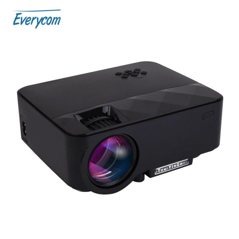 Prix pour TouYinger Q7 Mini portable LED Projecteur 1500 Lumens LCD Accueil theater Soutien 1920*1080 Full HD vidéo VGA HDMI USB SD Proyector