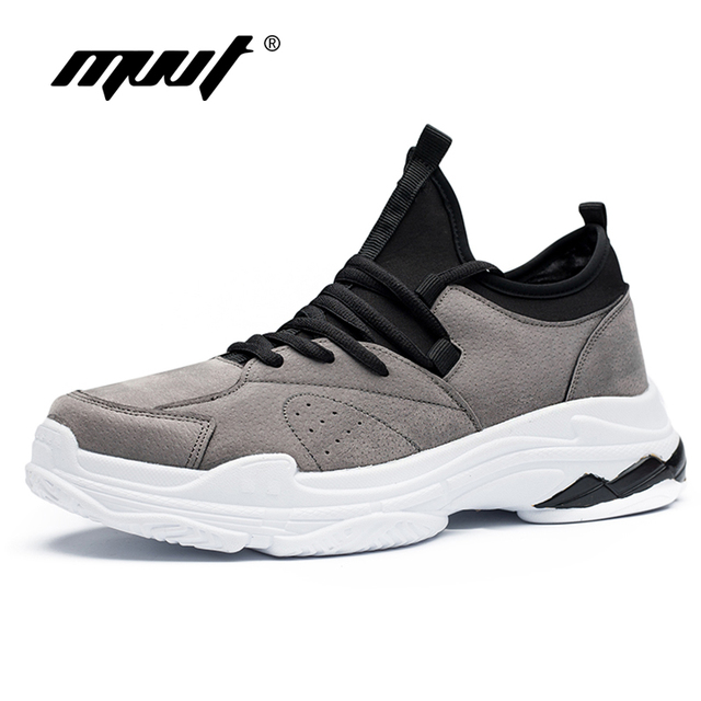 2018 New Arrival Men Running Shoes Breathable Suede Sneakers Super Sport Athletic Shoes Comfortable Breathable Walking Shoes