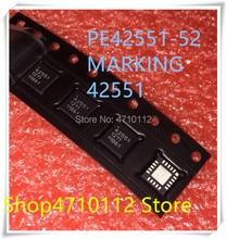 NEW 5PCS LOT PE42551 PE42551 52 MARKING 42551 QFN 20 IC