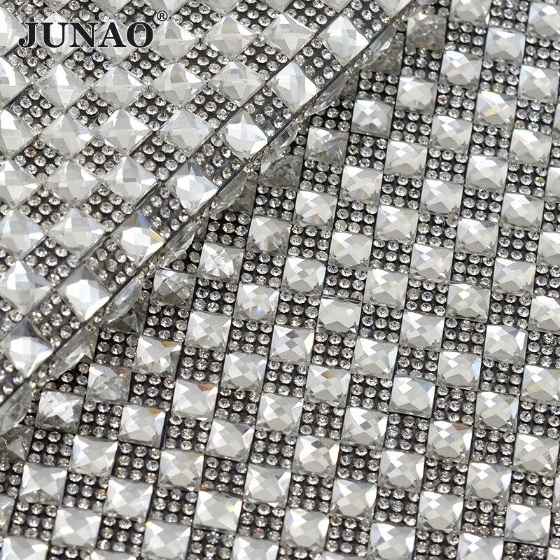 JUNAO 24 * 40 см виправлення яскраве скло - Мистецтво, ремесла та шиття