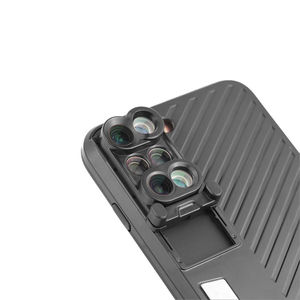 Image 3 - 8 Plus Dual Camera Lens For Apple iPhone X 8 Plus Telescope Lens Fisheye Wide Angle Macro Lens For iPhone 7 Plus Black