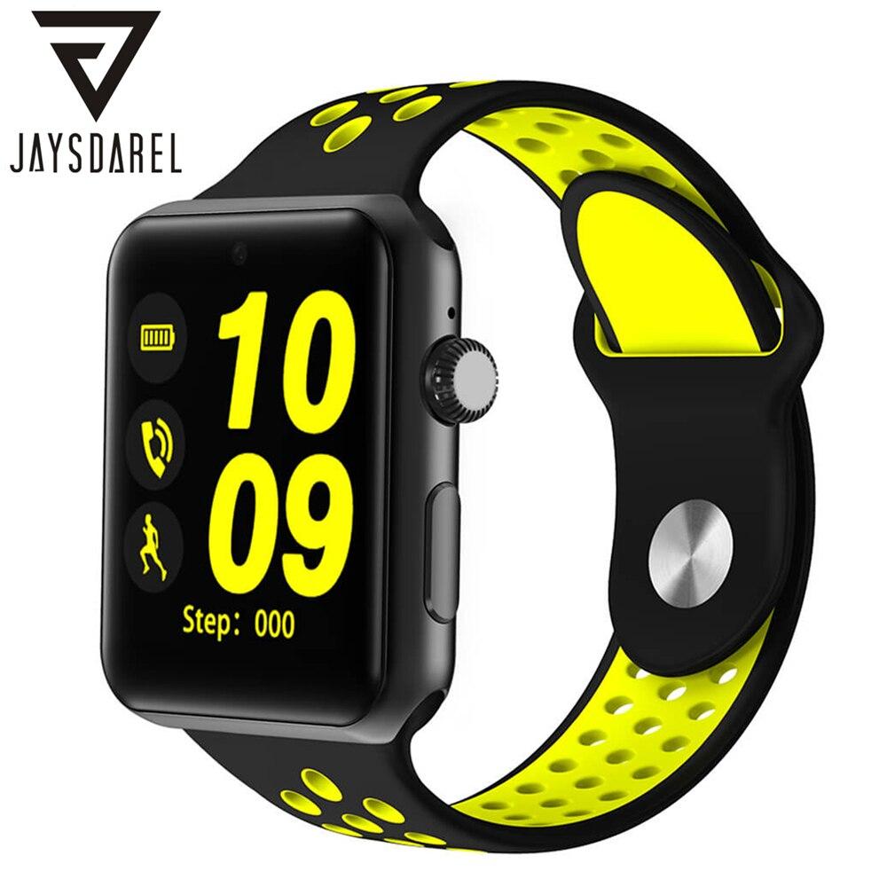 JAYSDAREL Intelligente Orologio DM09 Plus Sim Card Remote Camera Musica Bluetooth Inseguitore Sport Fitness per Android iOS