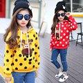Новый зиму детей в детской одежды женский флис куртки хан издание утолщение cuhk
