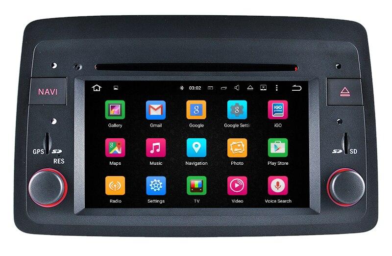 Android 8,0 Штатная dvd-плеер автомобиля для Fiat панда с gps навигации радио Bluetooth карта USB SD видео стерео 4 ядра 4 г+ 32 г