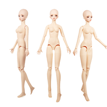 Dream Fairy 1/3 BJD Nude Doll 26 Movable Joints 62cm Plastic Naked Doll Body Fashion AI DIY Toy Doll Gifts for Girls SD
