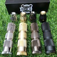 2019 Cl Japan Vape Model Mechanical Mod Kit E Cigarette Brass Material Mechanical Mod Kit Fit 18650 Battery Mech Mod Vape Kit