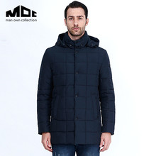 2016 New Winter jacket men's Outerwear Hooded Thinsulate Down jacket Man Warm Down Coat
