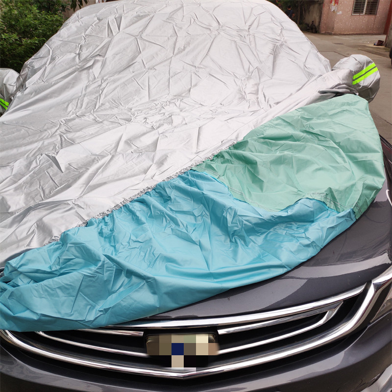Image 5 - Universal SUV/Sedan Full Car Covers Outdoor Waterproof Sun Rain Snow Protection UV Car Umbrella Silver S XXL Auto Case Cover-in Car Covers from Automobiles & Motorcycles