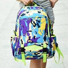 Мода средней школы рюкзак, Ребенок школьные сумки камо, Дети ранец, Подросток мальчики девочки рюкзаки, Высокое качество книги мешок