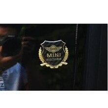 2 шт./компл. Mini Coopers R56 R50 R53 F56 F55 R60 R57 автомобиля стикер Каменка из углеродного волокна отделка Пластик с флагом работает Emble логотип