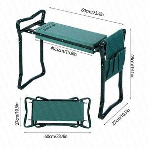 Image 3 - A, nueva gran oferta multifuncional plegable jardín Kneeler y asiento con 3 Bonus Tool Pouches teniendo 150KG