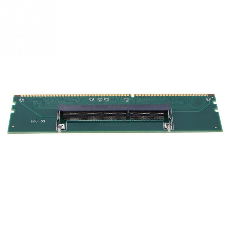 Image 3 - 240 To 204P DDR3 DIMM RAM Memory Adapter Card Desktop Connector Computer Part Desktop Component-in Add On Cards from Computer & Office
