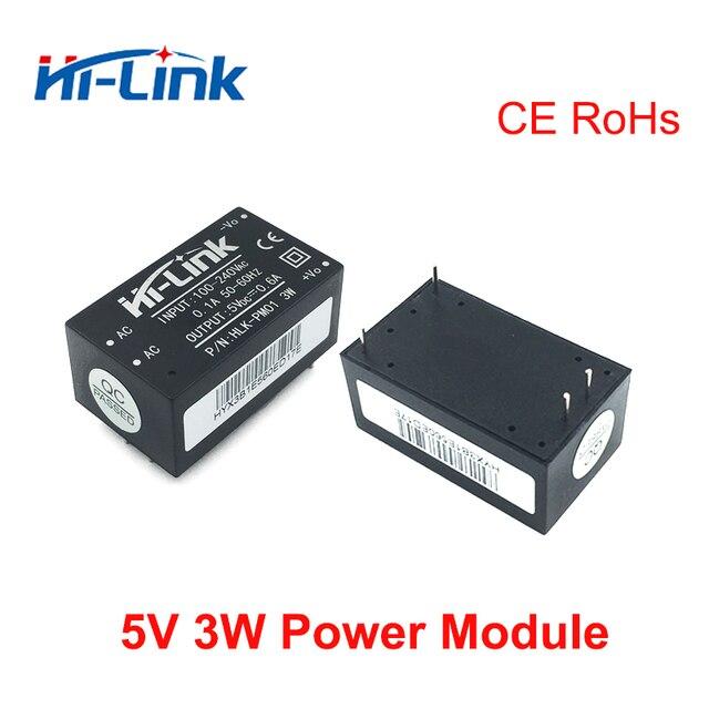 Envío gratis 3 piezas 220 v 5 V 3 W AC a DC aislado módulo de fuente de alimentación smart home control de conmutación módulo de fuente de alimentación HLK-PM01