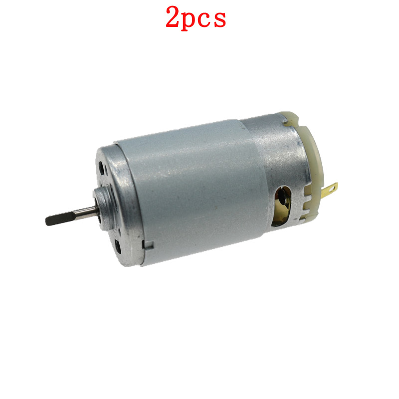 2pcs 395 Motor Strong Magnetic High Speed Large Torque Engine s 3-12V Hand Drill for RC <font><b>Cars</b></font>/Boat/<font><b>Electric</b></font> Tool <font><b>Parts</b></font> image