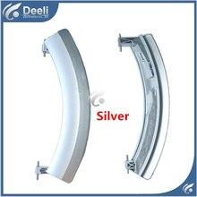 1PCS Silver new Original for washing machine parts door handle door handles door switch WD12H460TI 14H468TI WS10M460TI