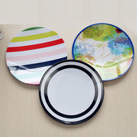 8 5 Inches Cartoon Color Children Breakfast Plate Eco Friendly Melamine Party Decorative Plate Non Toxic