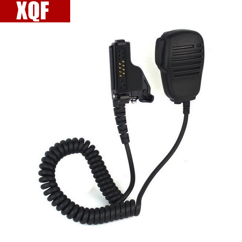XQF PTT SPEAKER MIC For MOTOROLA MT2000 GP9000 JT1000 PR1500 XTS1500 XTS2500 Radio