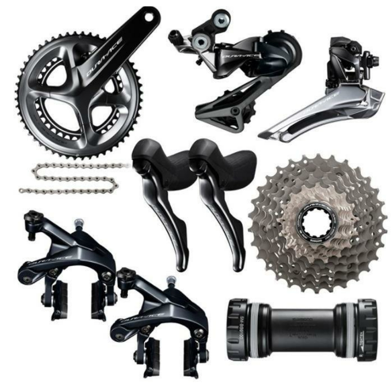Shimano Dura Ace R9100 11 Speed Groupset 2x11 Speed 53x39T 50x34T 52x36T 170 172 5 175mm