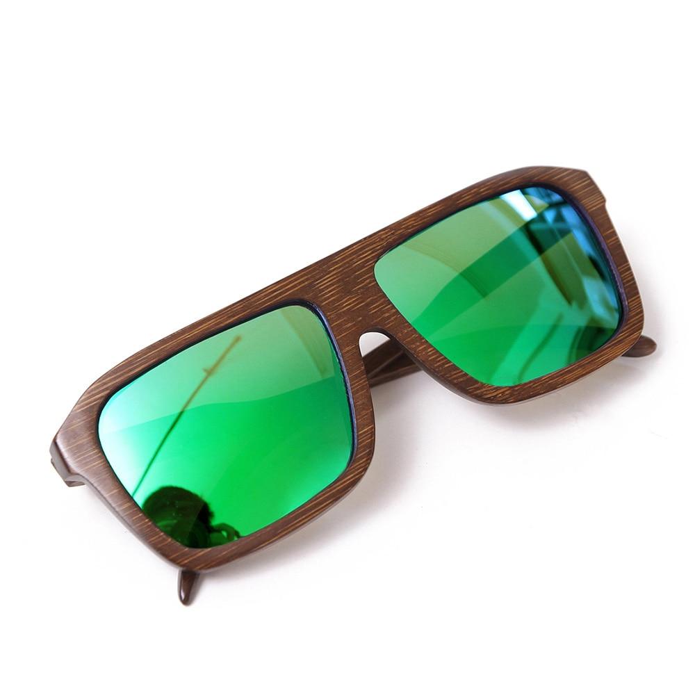 Ochelari de soare din bambus cu vânzare la cald, ochelari de soare - Accesorii pentru haine - Fotografie 4