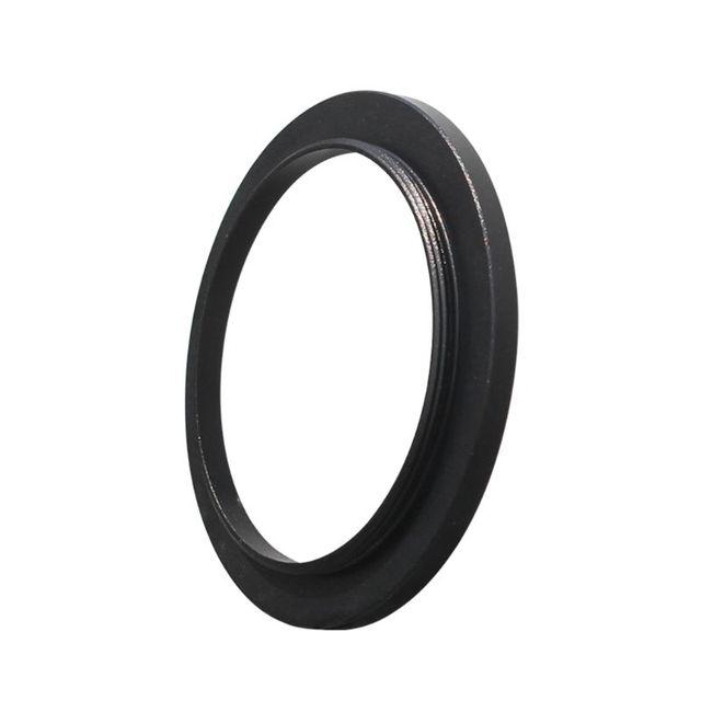 스테레오 현미경 접안 렌즈 필터 액세서리 용 M42 커플 링 어댑터 링에 검은 색 내구성 알루미늄 합금 M48