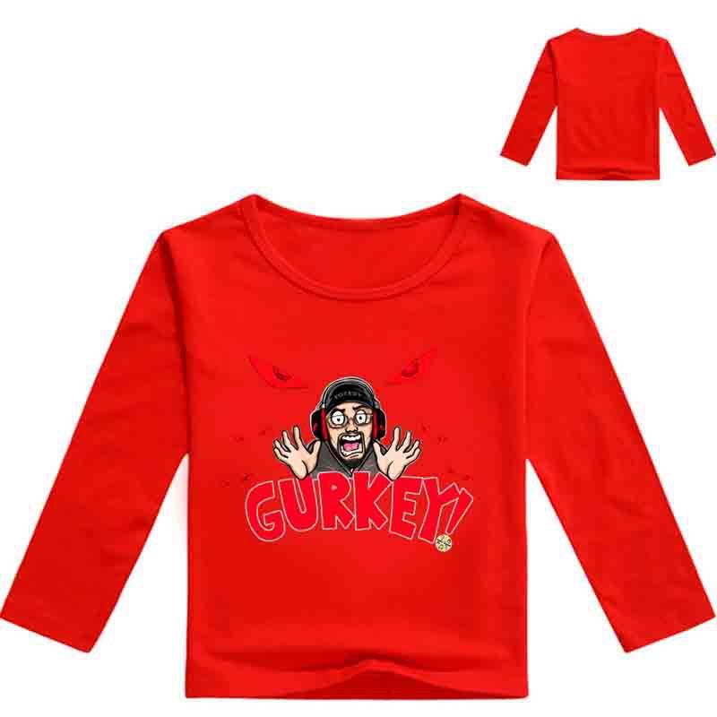 65b9029dd 3-14Years 2019 Winter Boys T-Shirt Baby Girls Clothes Cartoon Cat Long  Sleeve T Shirts For Children TShirts