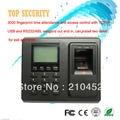 F2 huella digital de control de acceso y la atención del tiempo de RFID opcional o tarjeta de IC ZK biométrico de huellas dactilares puerta de control de acceso