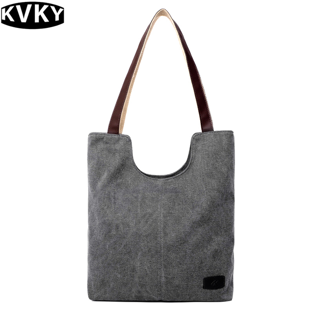 02b05bb1c57b Classical Designer European and American Style Fashion Vintage Gray Women  Shopping Bags Ladies Casual Shoulder Messenger