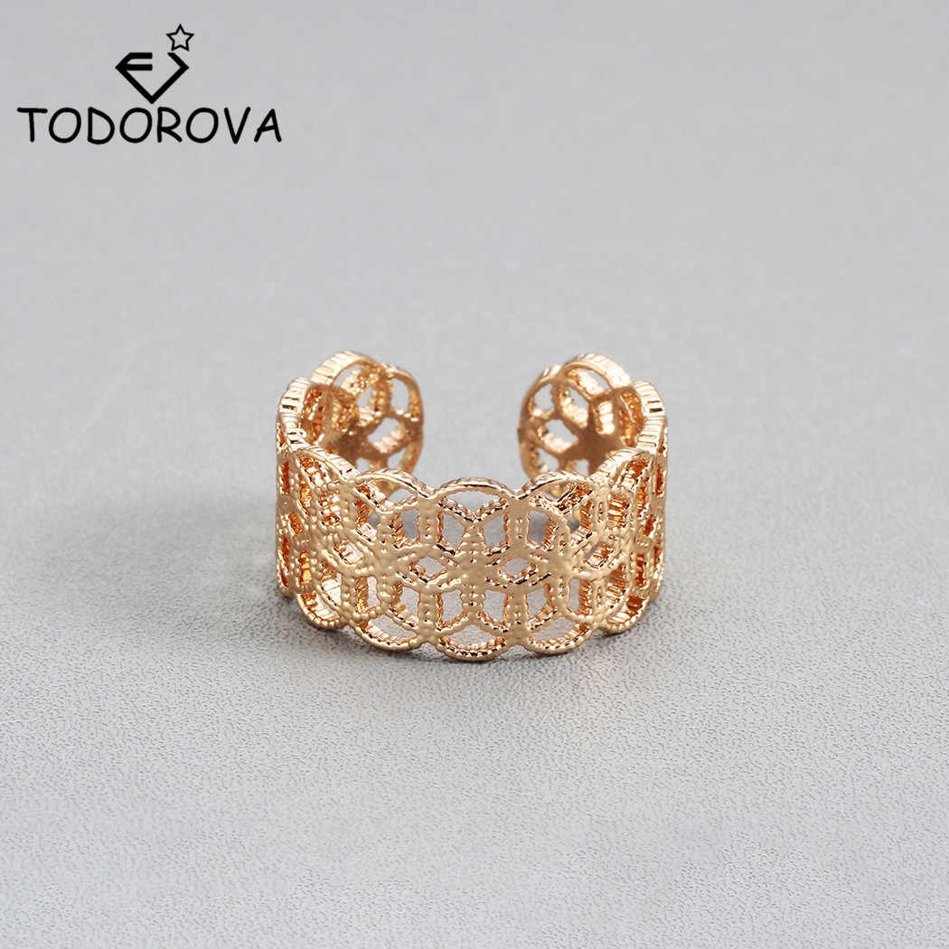 Todorova New Rings for Women Rings Female Cocktail Party Rings Fashion Jewelry