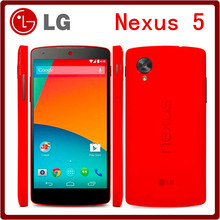 Original Google LG Nexus 5 Unlocked 5.0 Inch 3G&4G Quad Core 2GB RAM 16GB ROM 8.0 MP Camera 1080P LG D820 D821 Mobile Phone