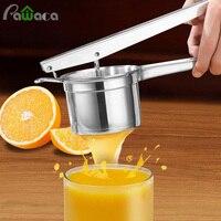 스테인레스 스틸 감자 Ricer 치 과일 야채 손 프레스 수동 과즙 분쇄기 오렌