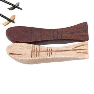 Ложка Вилка кухонные аксессуары палочки для еды держатель деревянная рыба форма подставка для китайских палочек подставка для отдыха укра...