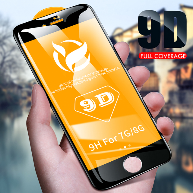 9d Protective Glass Iphone 6 6s 7 8 Plus X On R Max Screen Protector Protection Xr
