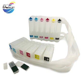 OCINKJET Continuous Ink Supply System Without Chip For Epson PP 100 Printer For PJIC1 PJIC2 PJIC3 PJIC4 PJIC5 PJIC6 Six Colors