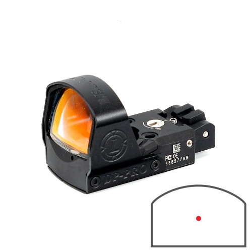 Holographic Red Dot Sight With the 1911 1913 And Glock Mount Tactical Reflex Red Dot Riflescope