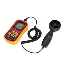 Ветромер Скорость ветер GaugeTemperature мера Digital 45 м/с термометр Карманный измерительный инструмент GM8901