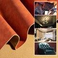 50cm * 138 centímetros Ovelhas Couro PU Tecido De Couro Sintético Para Costurar Roupas Artesanais DIY Acessórios Suprimentos