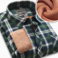Men Tops Blusa Camisa Casual Shirt Mens blouse shirt male Casual dress winter warm cotton shirt plaid flannel shirts
