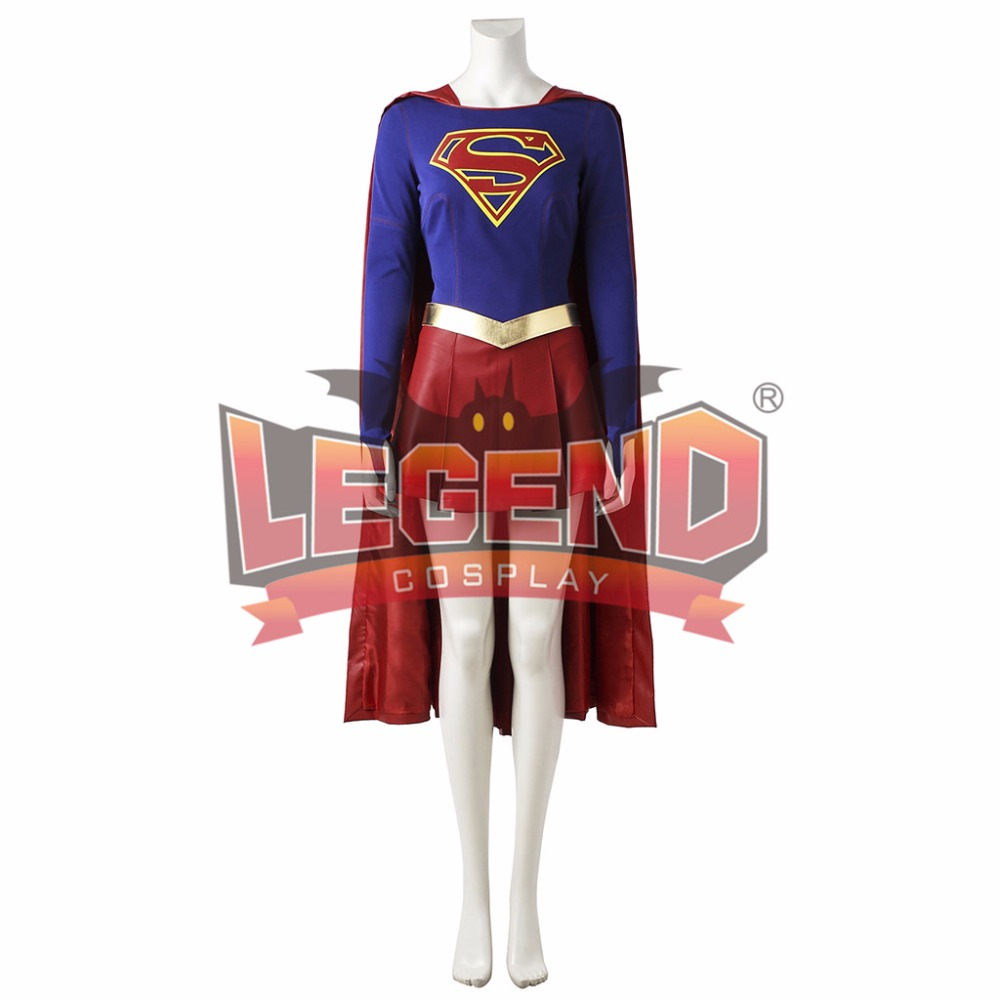 Supergirl Cosplay Costume Kara Zor-El Danvers Costume outfit