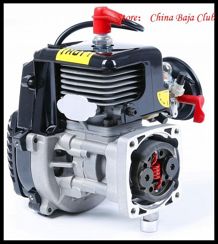 30.5cc Motore 4 Bolt Motore con 668 Carburatore candela 8000 RPM Frizione Fits HPI Baja 5B, LOSI 5 iveT, Redcat, FG - 6