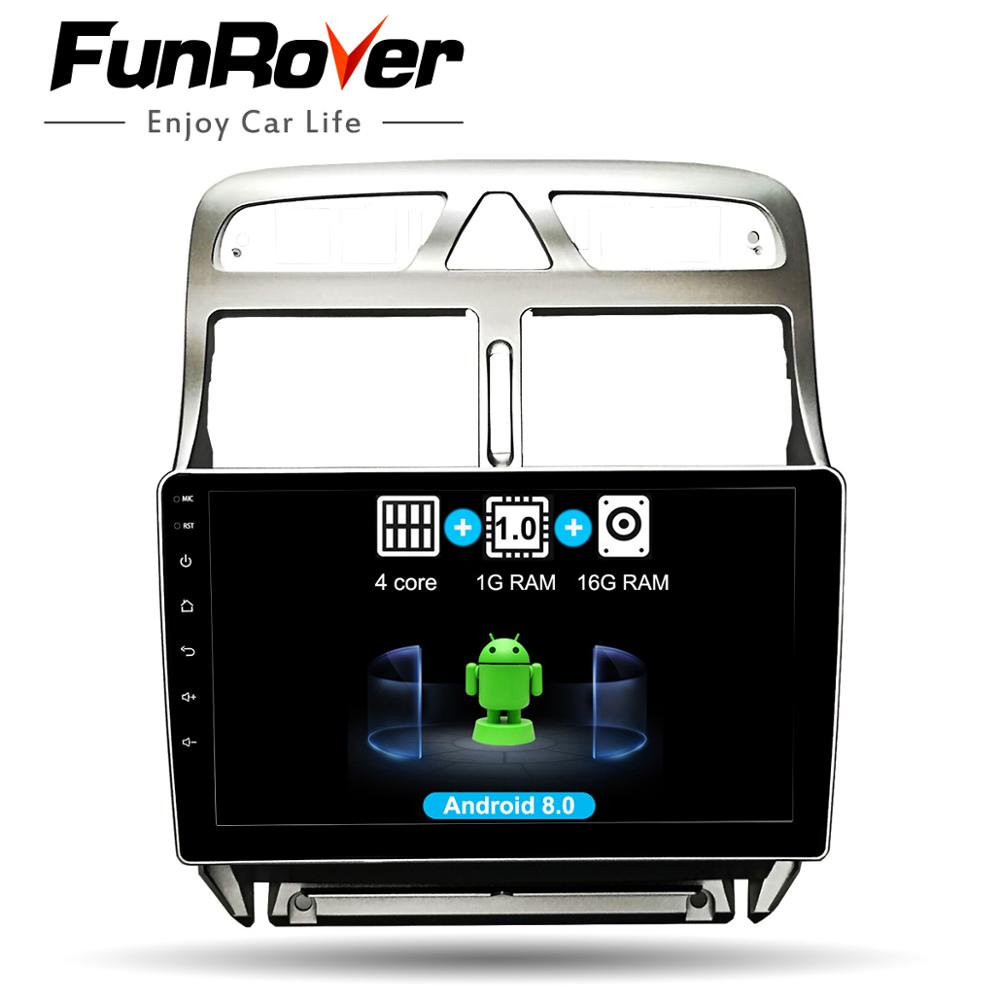 FUNROVER Android 8.0 2 din Car radio dvd Multimedia Player For peugeot 307 2002-2013 gps navigation system navi autoradio RDS 4GFUNROVER Android 8.0 2 din Car radio dvd Multimedia Player For peugeot 307 2002-2013 gps navigation system navi autoradio RDS 4G