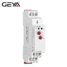 цена на GEYA Din Rail Off Delay Timer Relay 12V Time Delay Relays with CE CB certificate AC230V OR AC/DC12V-240V
