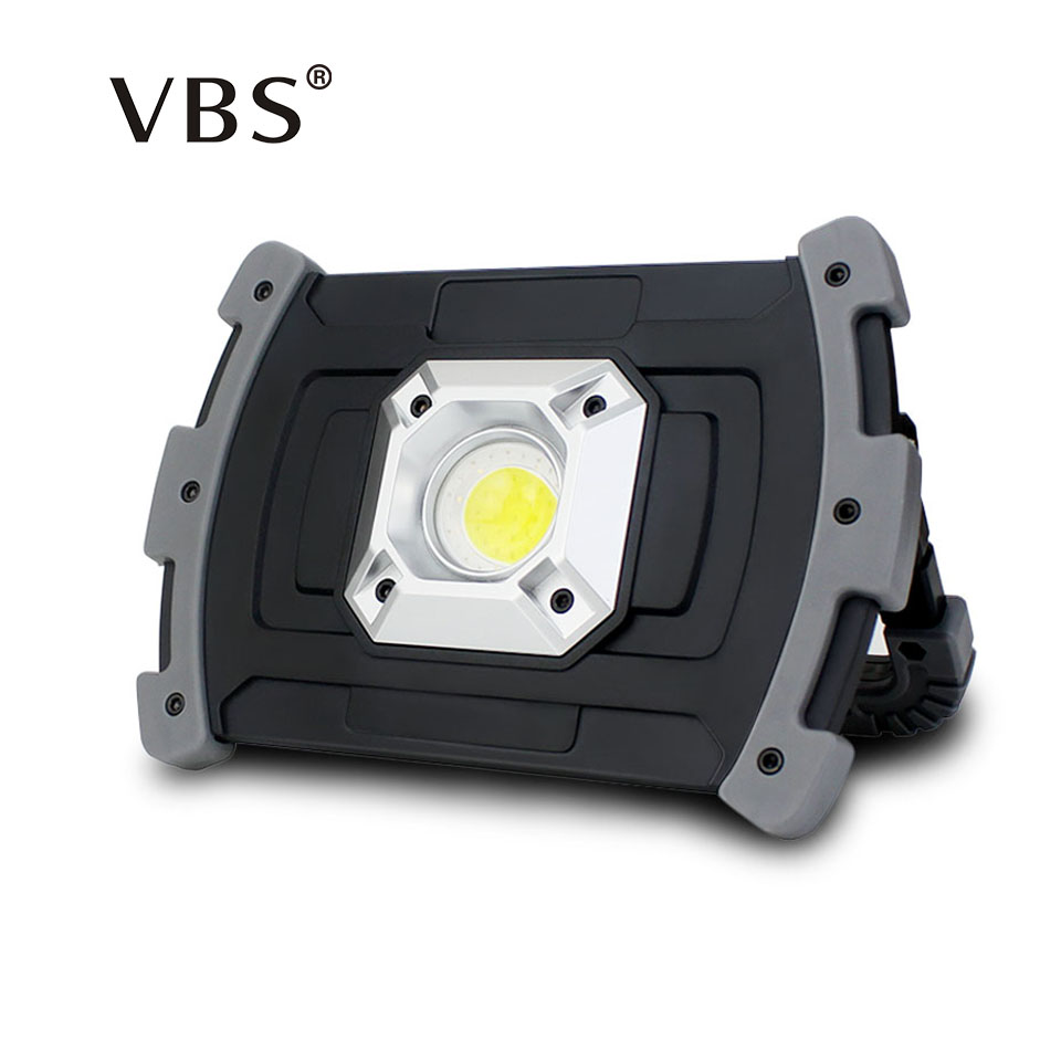 Stalwart Large 60 Led Rechargeable Work Light: 1PCS Flood Light Led Rechargeable 20W 5V 3 Mode USB