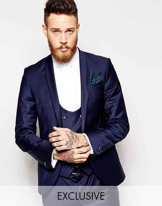 2017 neuesten Mantel-Hose Designs Lila Männer Hochzeitsanzüge Schlanke Fit 3 Stück Bräutigam Smoking Benutzerdefinierte Prom Anzug Blazer Terno Masculino