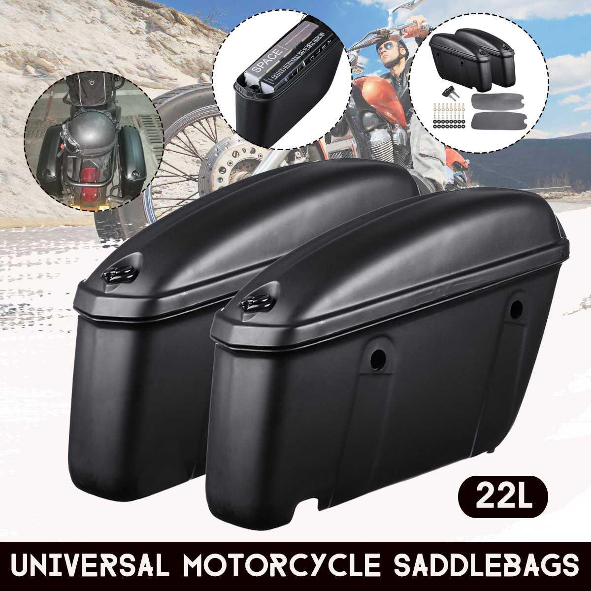 Universal crash bar bags 22 x 15 cm