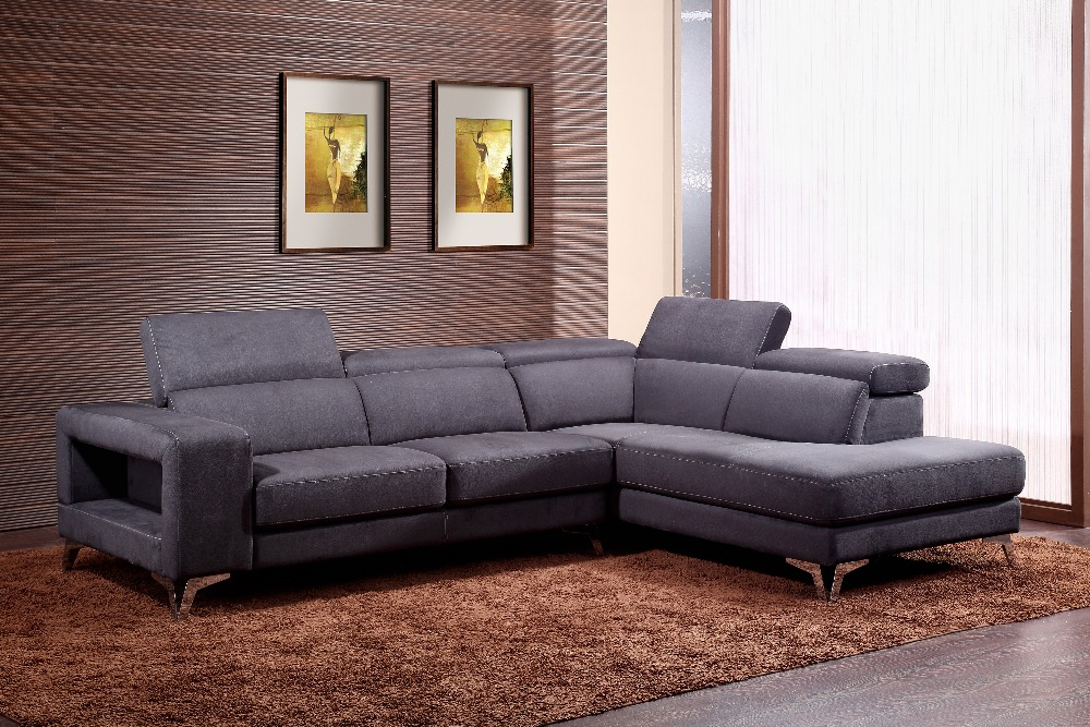 Wholesale living room sofa furniture sets 1533 corner sofa - Corner tables for living room online india ...