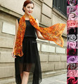 new arrival 100% silk scarf wrap shawl wholesale Retails Sarongs Hijabs Bandanas womens MIXED 170*50cm #3774