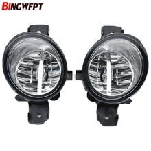 Автомобильные галогеновые лампы светодиодный фонарь, передние лампы дневного для Nissan Almera 2/II седан (N16) 2001-2006