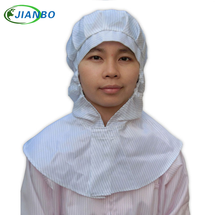 Anti-electrostatic shawl hat set head protection the hat electronics car have no dust work to spray to paint a hat anti electrostatic decontamination room protection system the medicine have no germ spray a paint connect the body take