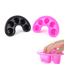 Removal-Tray Wash-Bowl Hand-Soaker Nail-Art Cuticle Acetone-Resistant